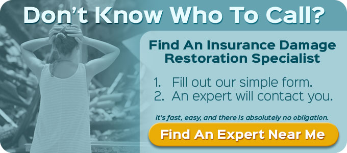 Find Wisconsin Insurance Restoration Specialist